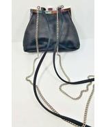 Liz Clairborne Evening Bag Purse Black 2 Convertible Crossbody Shoulder ... - $39.99