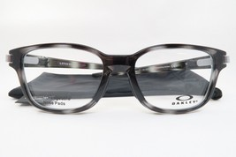 New Authentic Oakley OX8114-0352 Poilish Grey Eyeglasses 52/17/131 w/ Cloth Bag - $78.21