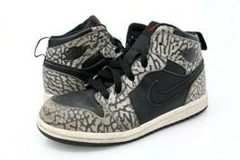 Nike Kids Sz 10C Air Jordan 1 Retro Sneakers Gray 826715-013 2015 Lace Up - $27.99