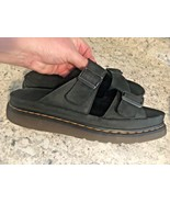 DR MARTENS SANDALS CYPRUS Black Leather UK 10 • EU 45 • US 11 - $58.36