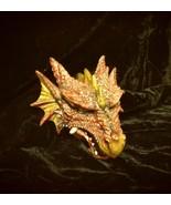 Dragon Head Hanging Wall Statue Medieval Beast Decoration Fantasy Myth H... - $31.99