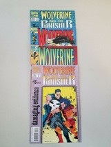 Wolverine Lot of Comic Books Marvel Issues #73 #77 #2 of 3 #3 of 3 1993 - $18.48