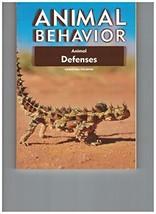 Animal Defenses (Animal Behavior) [Paperback] Wilsdon, Christina - $23.46