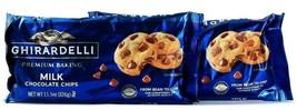 2 Bags Ghirardelli 11.5 Oz Premium Baking Milk Chocolate Chips BB 8/31/2021 - $21.99