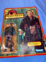 Kenner Robin Hood Prince Of Thieves Will Scarlett With Crossbow Action Figure - $14.99
