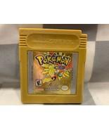 Pokemon: or Version (Game Boy Color, 2000 ) Vidéo Jeu Cartouche - $31.23