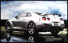 2009 Nissan GT-R Skyline 480HP Sales Brochure Xlnt NOS - $10.61