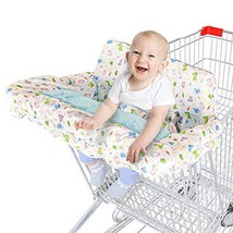 Labcosi Shopping Cart Cover and High Chair Cover for Baby and Toddler, G... - $36.90
