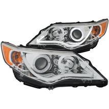ANZO 2012-2013 Toyota Camry Projector Headlights w/ Halo Chrome - $543.99