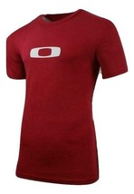 New Mens Oakley Crimson Red Square Me Icon Cotton Tee T-shirt XXL XL L - $18.99