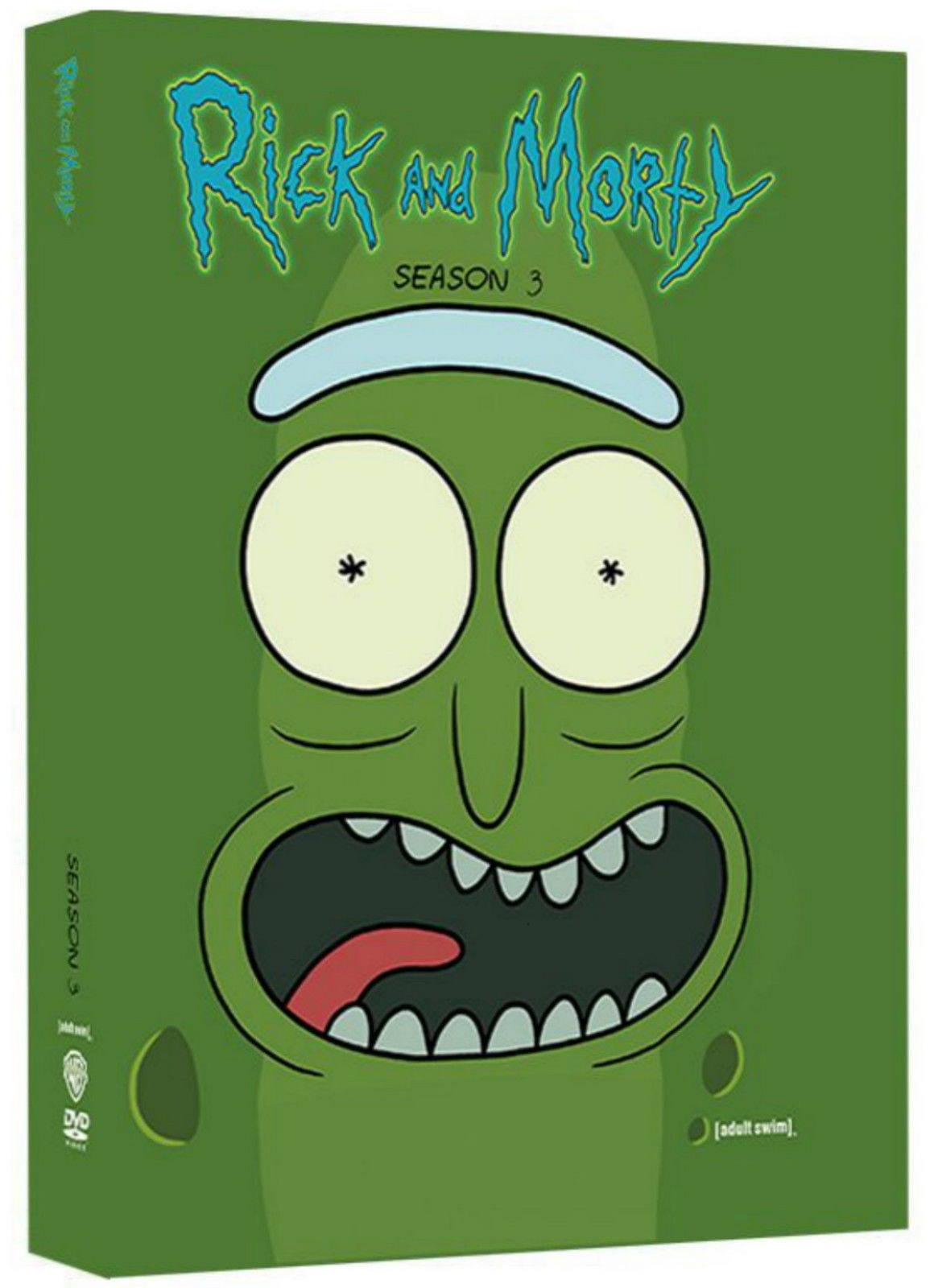 Rick and morty the complete third season three 3  2017  2 disc