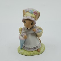 Vintage Enesco COUNTRY CALICO Mice Mouse Easter Spring Figurine 1982.   - $15.00