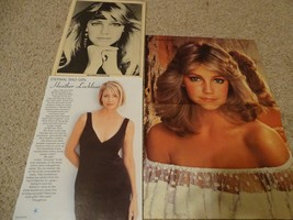 Heather Locklear teen magazine poster clipping white shirt Melrose Place... - $10.00