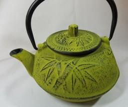 20 oz Cast Iron Teapot with Infuser Japanese Tea Pot Osaka - Moss Green - €17,57 EUR