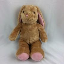 Build A Bear BABW Lop Eared Tan Bunny Rabbit Plush Stuffed Animal  - $13.86