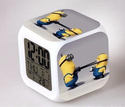 Despicable Minion #12 Led Alarm Clock Figures LED Alarm Clock - $25.00