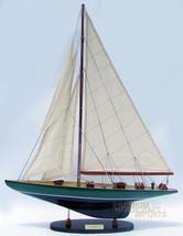 "24"" Shamrock Green & Black Sailing Boat Model - $84.15"