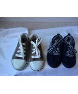 Faded Glory & The Children Place Lot of 2 Toddlers Boys  Shoes size 7 & 8 - $39.49