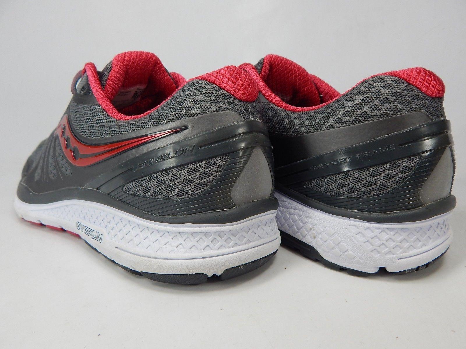 Saucony Echelon 6 Size 11 M (B) EU 43 Women's Running Shoes Red Gray S10384-1