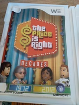 Nintendo Wii The Price Is Right: Decades ~ COMPLETE image 2