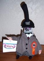 "Disney ""Nightmare Before Christmas"" Mayor Mini B EAN Bag Plush Toy 8"" New - $25.90"