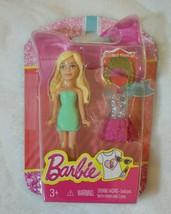 "Mini Barbie Birthday Series 4"" Happy Birthday Blonde Figure New 2015 Rare - $12.86"