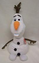 """TY Beanie Buddy Walt Disney Frozen OLAF SNOWMAN 12"""" Plush STUFFED ANIMAL... - $19.80"""