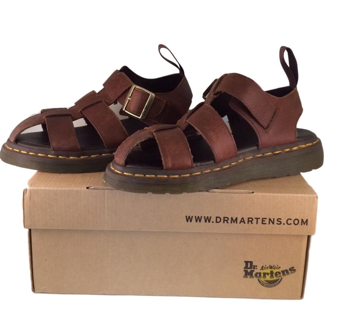 2f7b9791bd6 Doc Martens AirWair Men s Tan Fisherman Sandals - Leather - Size 7 US with  Box -  29.99