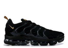 Nike Air Vapormax Plus Men's Shoes BQ5068-001 Black/Grey/Metallic Gold S... - $239.99