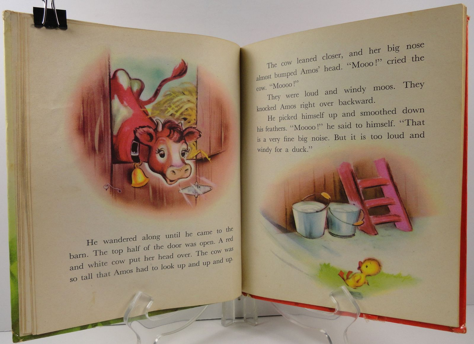 Amos Learns to Talk The Story of a Little Duck Elf Book 446
