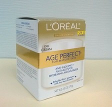 L'Oreal Paris Skin Expertise Age Perfect Mature Skin Day Cream SPF 15 Su... - $9.85