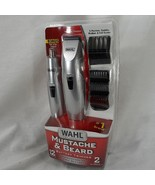 Wahl mustache and beard trimmer 12 pieces sealed - $26.00