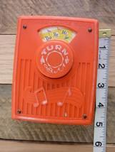 Vintage Fisher Price Pocket Radio Do Re Mi Wind Up Music Toy - $14.00