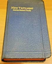 American Standard Version Pocket Bible New Testament Revised 1881 Red Ed... - $19.99
