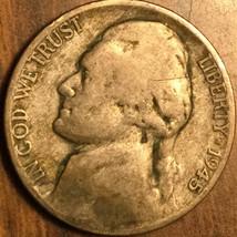 1945 P USA JEFFERSON .350 SILVER 5 CENTS COIN - $4.00