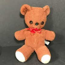 Knickerbocker Kuddles teddy bear stuffed Animals of Distinction 1960s Vintage - $50.37