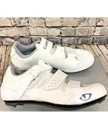 GIRO Solara II Womens US 7.5 EU 39 White Cycling Shoes $150 MSRP - $69.18