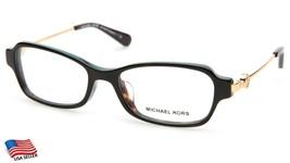 New Michael Kors MK8023F Abela V 3133 Tortoise Eyeglasses Frame 52-17-135 B32mm - $58.40