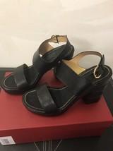 New Salvatore Ferragamo Madrina Black Platform Sandals SZ 9 C $695 - $193.99