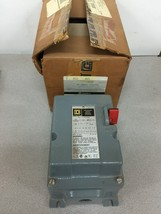 NEW IN BOX SQUARE D EXPLOSION PROOF MANUAL MOTOR STARTER 2510 MBR2 SERIES A - $531.63
