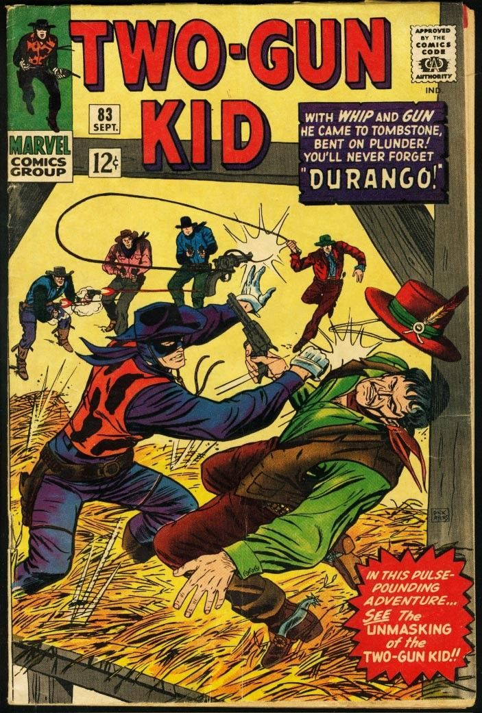 TWO-GUN KID #83-MARVEL WESTERN VG/FN