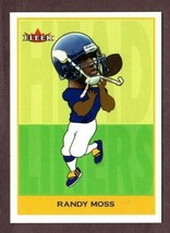 2002 Feer Tradition Headliners #3HU Randy Moss Football Card - $8.86