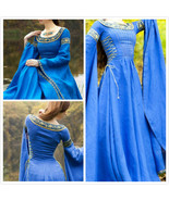 medieval Dress Lady of the Lake Costume - $149.00