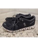 On Cloud Running Shoe Womens Size 9.5 Black/White - $55.17