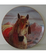 The Arapaho by Perillo Tribal Ponies Collector Plate Vague Shadows - $29.99