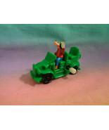 Disney Burger King Goofy Green Windup Vehicle Toy - Goes in Circles - (2) - $1.18