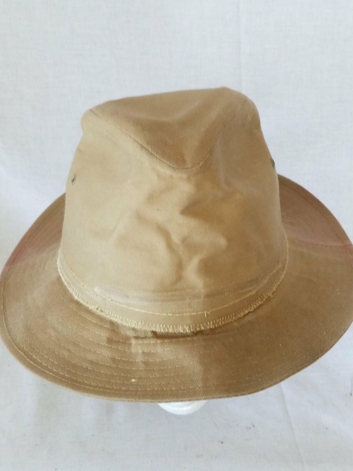 Dorfman Pacific Co. DPC Brown Safari Hat Size Large