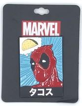Marvel Comics Deadpool Taco Japanese Brooch Lapel Pin By Bioworld - $4.49