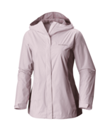 NWT COLUMBIA WOMEN RAIN HOODED JACKET COAT SIZE L SIZE XL $90 - $40.03