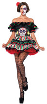 Day Of The Dead Doll Adult Women's Costume Sexy Fancy Dress Leg Avenue M... - $39.99